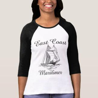Maritimer sailing ship nautical  East coast T-Shirt