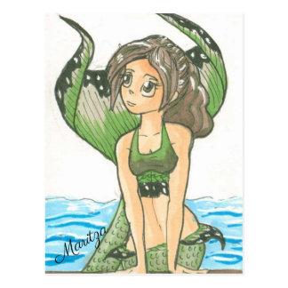 Maritza the Mermaid Postcard