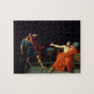 Marius at Minturnae, 1786 (oil on canvas) Jigsaw Puzzle