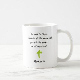 Mark 16.15 mugs