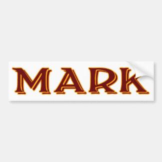 Mark #2 bumper sticker