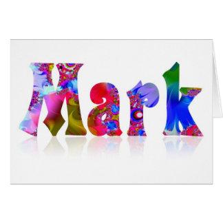 Mark Card