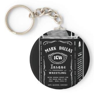 Mark Dallas Key ring (Black)