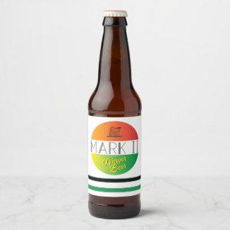 Mark II Ginger Beer Beer Bottle Label