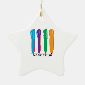 Mark It Up Christmas Ornaments