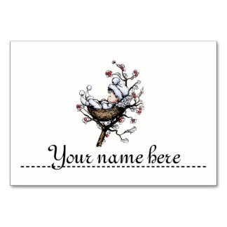 Mark-place for the table of Christmas - Table Card