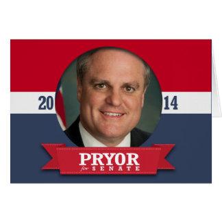 MARK PRYOR CAMPAIGN CARDS