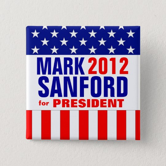 Mark Sanford 15 Cm Square Badge