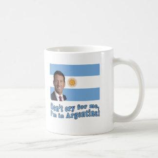 Mark Sanford  Don't Cry for Me I'm in Argentina Mug