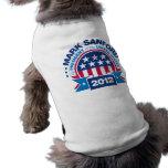 Mark Sanford for President 2012 Pet Clothes