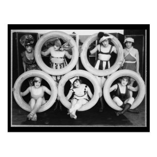 Mark Sennett Bathing Beauties Postcard
