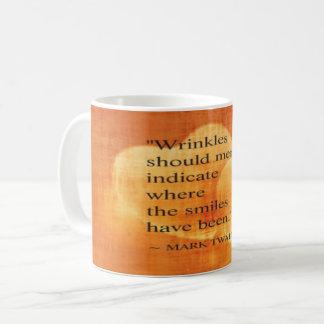 Mark Twain Birthday Quote With Hearts Coffee Mug
