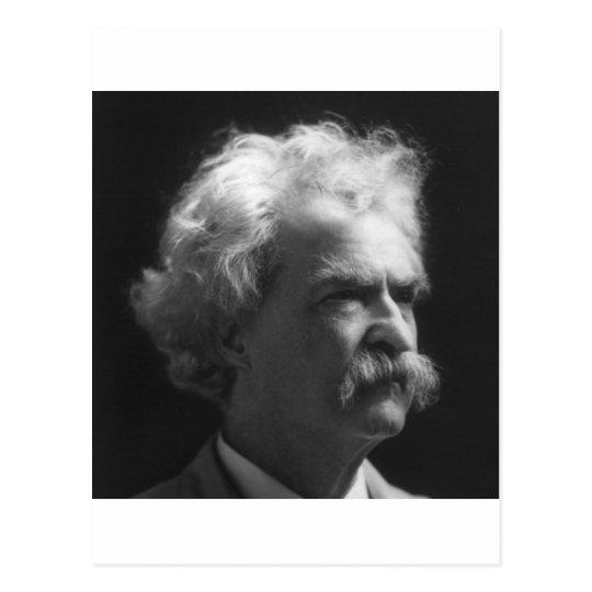 Mark Twain portrait Postcard