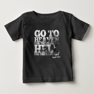 Mark Twain Quote Baby T-Shirt