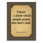 Mark Twain quote on books Wens Kaarten