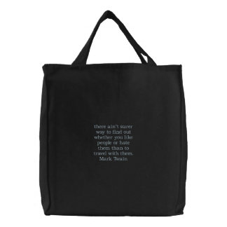 Mark Twain Travel Tote