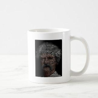 Mark Twain (TypeFace) Basic White Mug