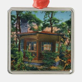 Mark Twain's Study at Quarry Farm, East Hill Christmas Ornaments