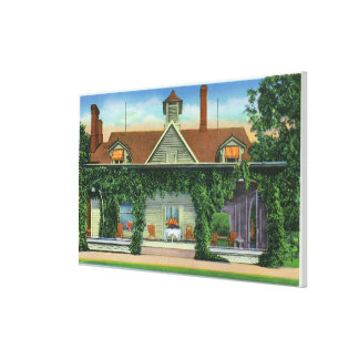 Mark Twain's Summer Home, Quarry Farm Canvas Print