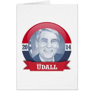 MARK UDALL CAMPAIGN CARD