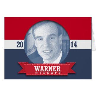 MARK WARNER CAMPAIGN GREETING CARDS