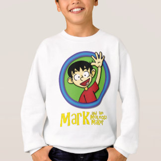 MARK with title.png Sweatshirt