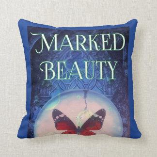 Marked Beauty Designer Throw Pillow