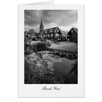 Marken Village Netherlands - Thank You Greeting Card