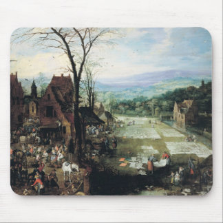 Market and Bleaching Ground, 1620-22 Mouse Pad
