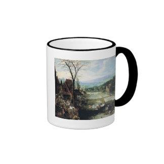 Market and Bleaching Ground, 1620-22 Ringer Mug