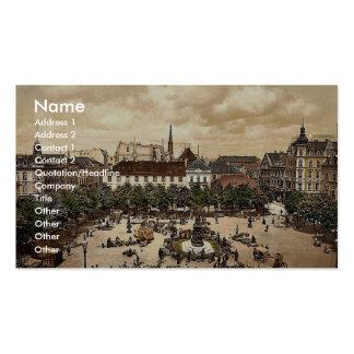 Market, Bremerhafen, Hanover (i.e. Hannover), Germ Business Cards