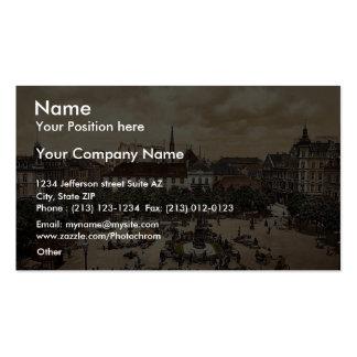 Market, Bremerhafen, Hanover (i.e. Hannover), Germ Business Card Template