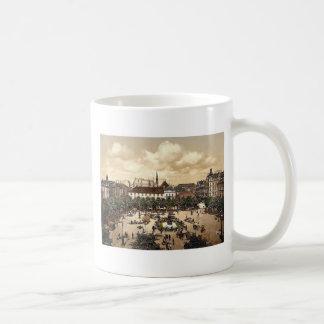 Market, Bremerhafen, Hanover (i.e. Hannover), Germ Coffee Mugs