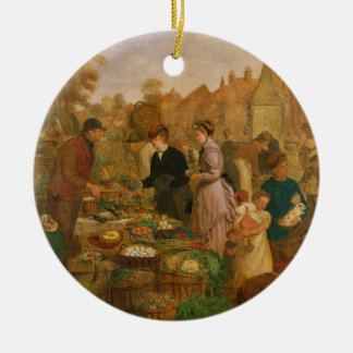 Market Day Christmas Ornament