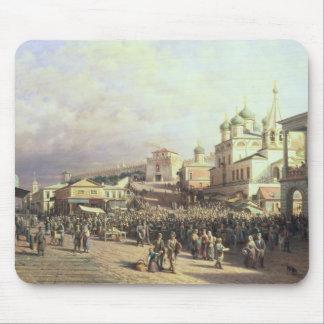 Market in Nishny, Novgorod, 1872 Mouse Pad