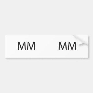Market Maker -or- Merry Meet ai Bumper Stickers