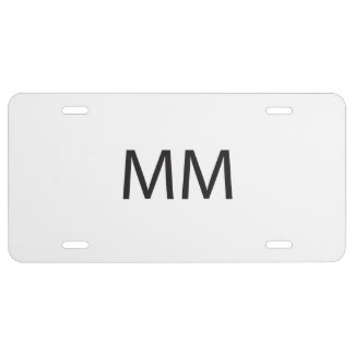 Market Maker -or- Merry Meet ai License Plate