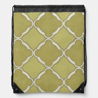 Market Motifs IX Drawstring Bag