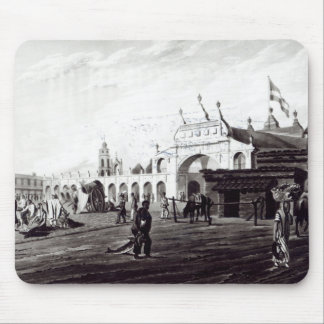 Market Place, engraved by Daniel Havell  1820 Mouse Mat
