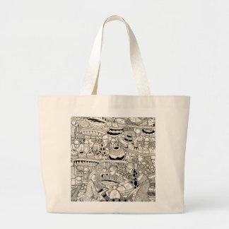 Market place large tote bag