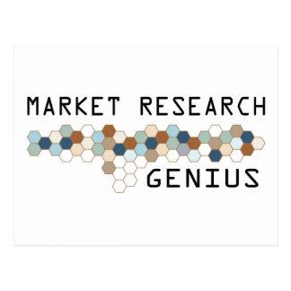Market Research Genius Postcard