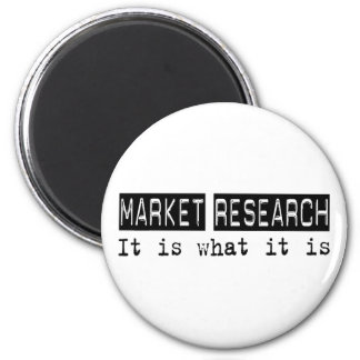 Market Research It Is 6 Cm Round Magnet