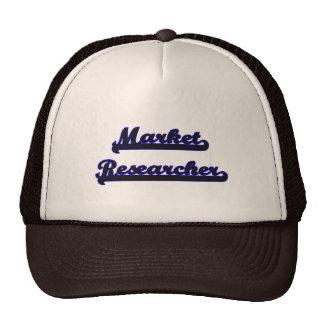 Market Researcher Classic Job Design Cap