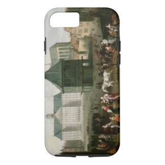 Market Scene before the Dam Palace, Amsterdam iPhone 8/7 Case