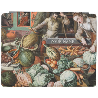 """Market Scene"" vintage art cases iPad Cover"