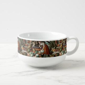 """Market Scene"" vintage art soup mug Soup Mug"