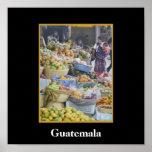 Market - Solola - Guatemala Poster