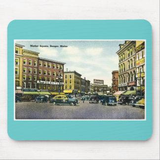 Market Square, Bangor, Maine Mouse Pads