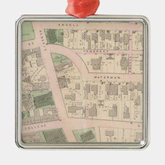 Market Square Brown University Court House Christmas Ornament