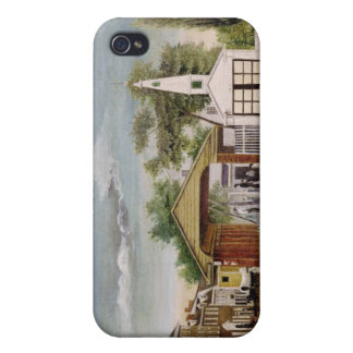Market Square, Germantown, Pennsylvania iPhone 4/4S Covers